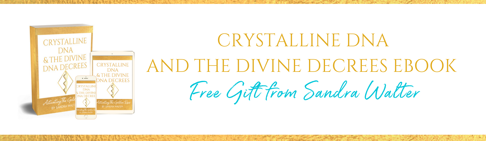 Welcome: Claim your Crystalline DNA ebook